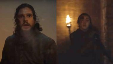 Game of Thrones Season 8 Episode 3 Promo: Jon Snow and Arya Stark Are Bloodied and Scared in the New GoT Footage – Watch Video