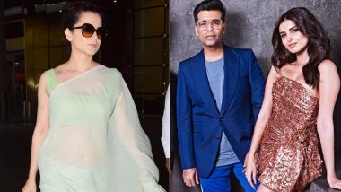 Irony at Its Best! Karan Johar Student Tara Sutaria Finds Kangana Ranaut Inspiring