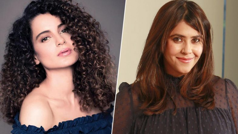 Kangana Ranaut's Sister Rangoli Busts Rumours of Creative Differences with Ekta Kapoor on the Sets of Mental Hai Kya