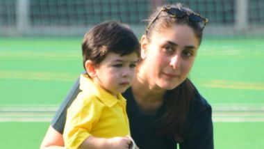 Kareena Kapoor Khan Reveals Her Son Taimur Scolds Her – Watch Funny Video