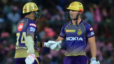 RR vs KKR IPL 2019 Stats Highlights: Sunil Narine, Chris Lynn Help Kolkata Knight Riders Beat Rajasthan Royals by Eight Wickets