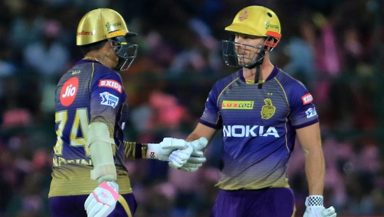 RR vs KKR IPL 2019 Stats Highlights: Sunil Narine, Chris Lynn Help Kolkata Knight Riders Beat Rajasthan Royals by Eight Wickets