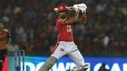 Kings XI Punjab vs Sunrisers Hyderabad, IPL 2020 Toss Report and Playing XI Update: Mayank Agarwal, Jimmy Neesham Out As KXIP Put to Bat