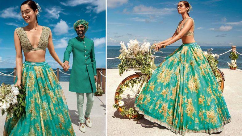 Manushi Chhillar Makes Sabysachi Creation Look Magical For This Bridal Shoot! View Pics