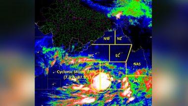 Cyclone Fani Forecast: Cyclonic Storm to Turn Severe in Next 24 Hours; Tamil Nadu, Andhra Pradesh, Odisha to Receive Heavy Rainfall