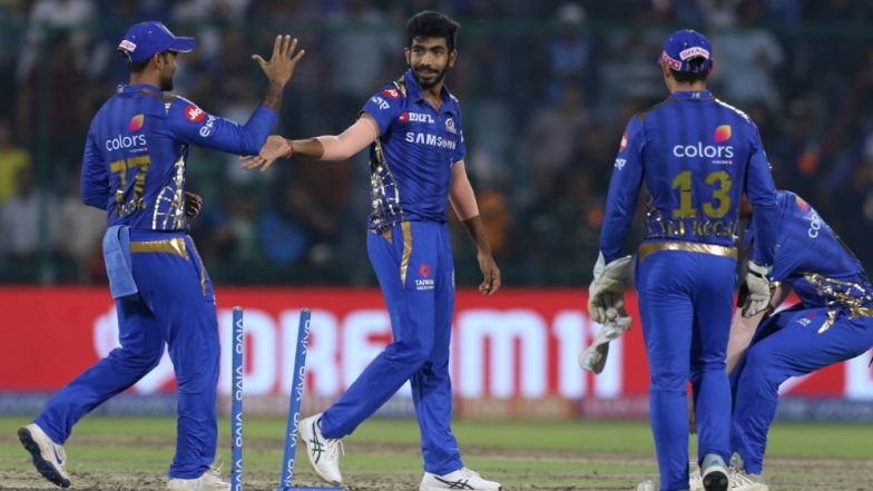 DC vs MI Stat Highlights IPL 2019: Mumbai Indians Outplay Delhi Capitals to Take Second Spot on the Points Table