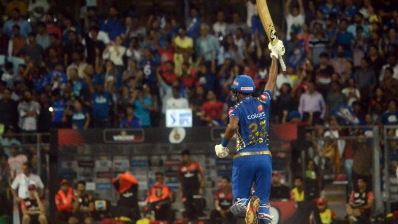 MI vs RCB IPL 2019, Stat Highlights: Hardik Pandya's Cameo & Lasith Malinga's Four Wickets Handed Virat Kohli & Men With their Seventh Defeat
