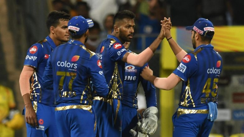 MI vs CSK Stat Highlights IPL 2019: Mumbai Indians Becomes First Team to Win 100 Matches in Indian Premier League