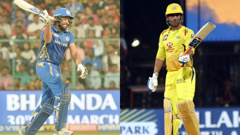 MI vs CSK IPL 2019: Mumbai Indians vs Chennai Super Kings' Rivalry in Numbers!