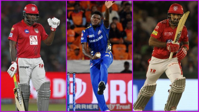 MI vs KXIP, IPL 2019 Match 24, Key Players: Chris Gayle to Alzarri Joseph to KL Rahul, These Cricketers Are to Watch Out for at Wankhede Stadium