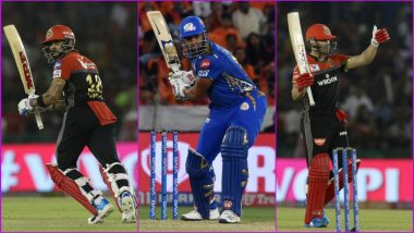 MI vs RCB, IPL 2019 Match 31, Key Players: Virat Kohli to Kieron Pollard to AB de Villiers, These Cricketers Are to Watch Out for at Wankhede Stadium in Mumbai