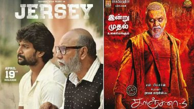 Kanchana 3 and Jersey Full Movies in HD Leaked on
