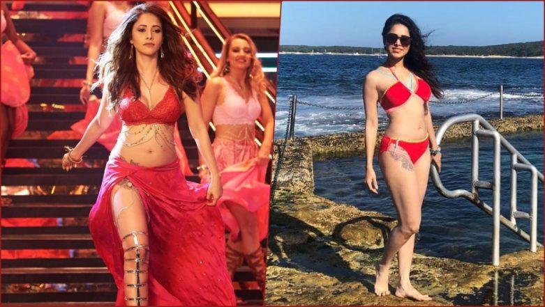 Nushrat Bharucha Wows in Sexy Red Bikini, Shows Off Her Svelte Figure on Australia Vacay (View Pics)