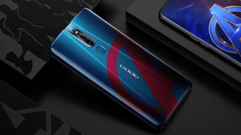 Oppo F11 Pro Avengers Edition With Captain America Case Unveiled In India