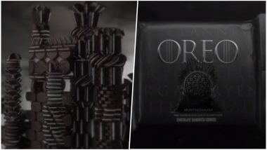 Game of Thrones' Iconic Opening Sequence Made with 2,750 Oreo Cookies! (Deets Inside)