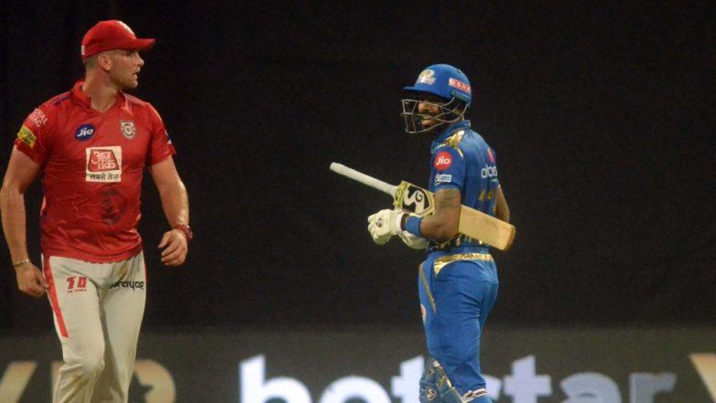 Watch Hardik Pandya vs Hardus Viljoen in a Different Battle Mid-Pitch During MI vs KXIP IPL 2019 Match