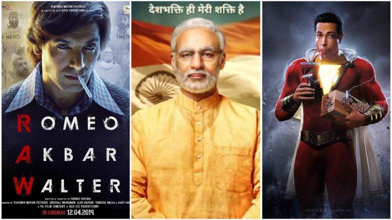 Movies Releasing This Week: John Abraham's Romeo Akbar Walter, Vivek Oberoi's PM Narendra Modi, DC's Shazam!
