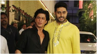 Abhishek Bachchan's 'Monday Motivation' Tweet Inspires Shah Rukh Khan to Work on his 'Punctuality Issues'