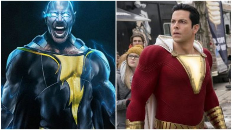 Zachary Levi's Shazam! Gets a Sequel; Dwayne Johnson Also Confirms Black Adam Is on the Way Too