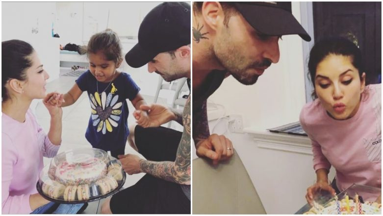 Sunny Leone and Daniel Weber Get a Sweet Surprise from Daughter Nisha on their 8th Wedding Anniversary - View Pics
