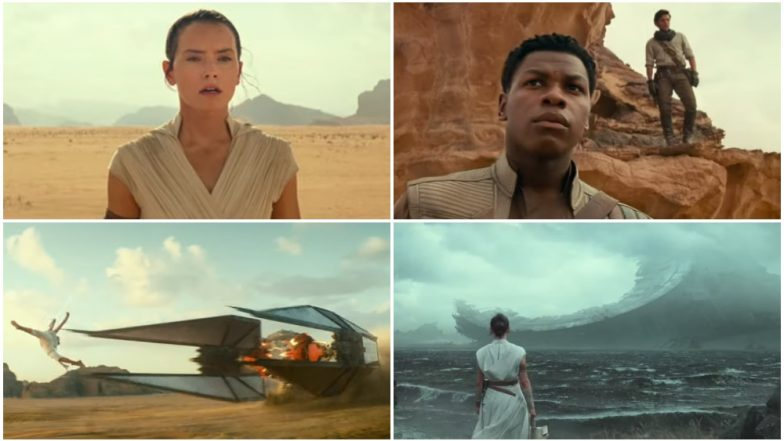 Star Wars: Episode IX Teaser: Ian McDiarmid's Emperor Palpatine Returns and Daisy Ridley's Rey is Determined to Fight Him (Watch Video)