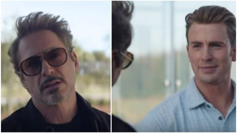 Avengers EndGame New Clip: Iron Man Tells Captain America That He Missed 'That Kiddie Optimism' – Watch Video