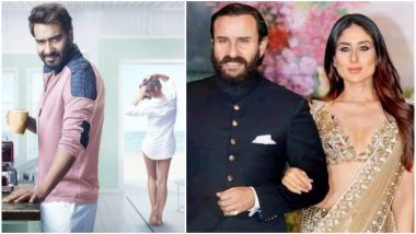 Ajay Devgn's De De Pyaar De Trailer Takes a Sly Dig at the Age Difference Between Kareena Kapoor Khan and Saif Ali Khan