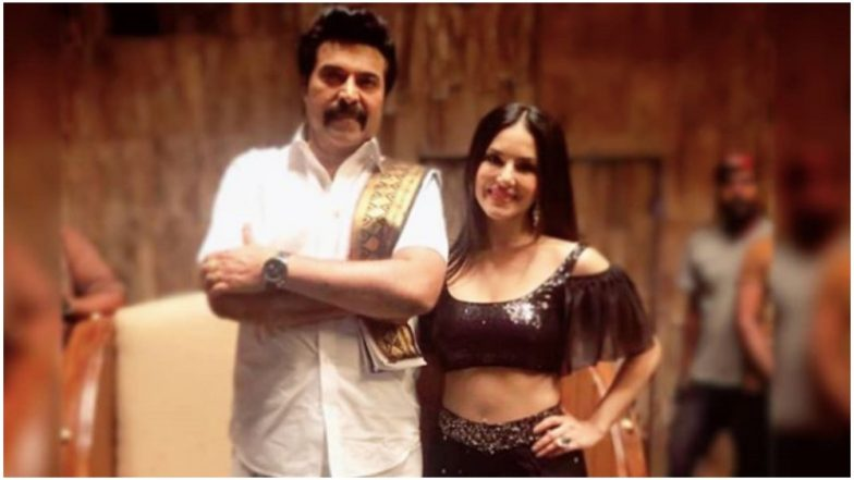 Sunny Leone Posts a Heartfelt Picture With Madhura Raja Star Mammootty, View Pic
