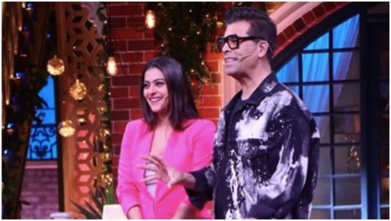 After Koffee With Karan 6, Karan Johar and Kajol to Share the Couch at the Kapil Sharma Show