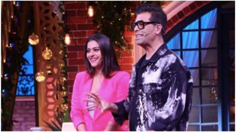 After Koffee With Karan 6, Karan Johar and Kajol to Share the Couch at the Kapil Sharma Show
