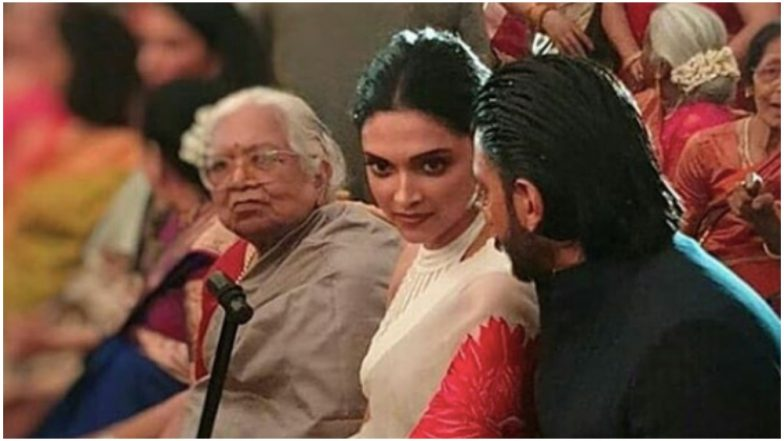 Ranveer Singh and Deepika Padukone Spotted at a Wedding in Mumbai, View Photos