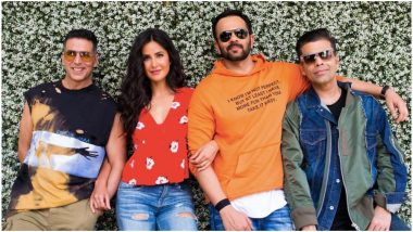 Sooryavanshi: Katrina Kaif Comes on Board With Akshay Kumar in the Second Collaboration of Rohit Shetty and Karan Johar
