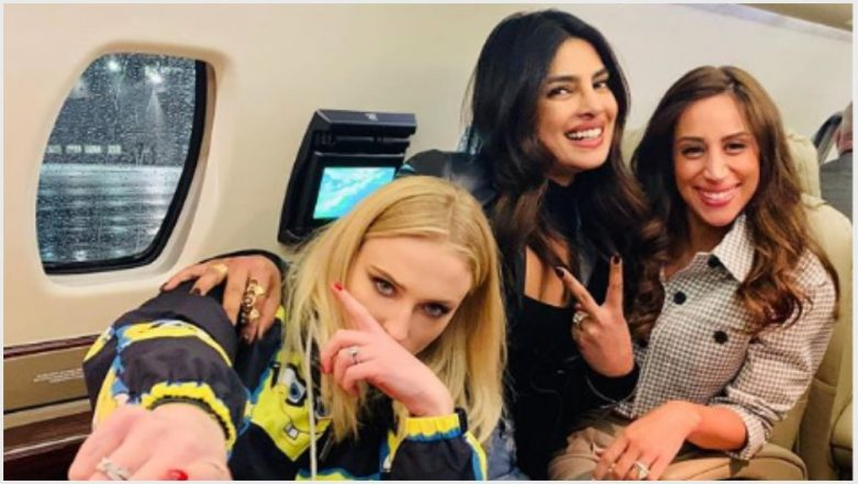 JSisters Priyanka Chopra Jonas, Sophie Turner, Danielle Jonas Give Us a Perfect Start to the Weekend With This 'Cool' Pic