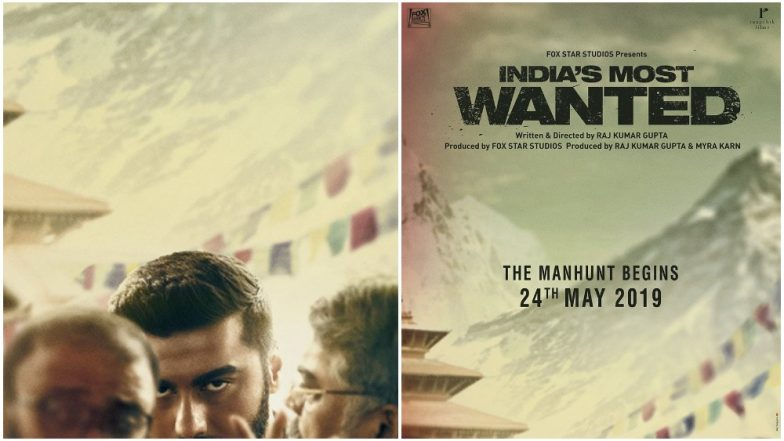 India's Most Wanted Poster: Arjun Kapoor Intrigues Us With His Partly Obscured Face (View Pic)
