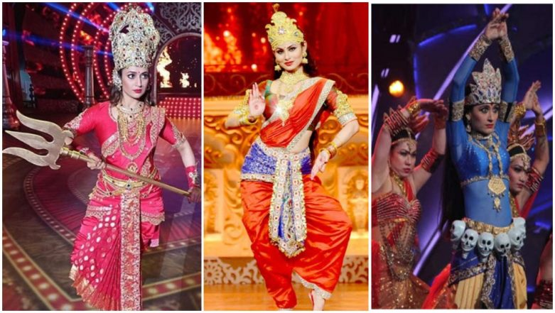 Chaitra Navratri 2019: Mouni Roy, Divyanka Tripathi Dahiya, Sanjeeda Shaikh – TV Actresses Who Played Goddess Durga on Screen – View Pics