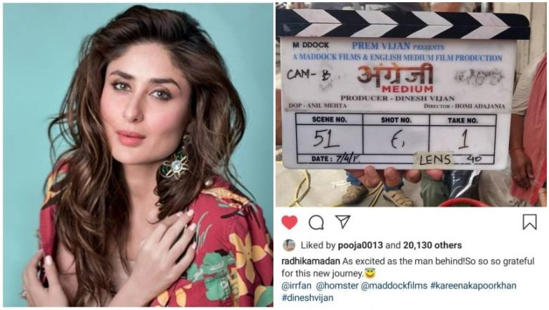Confirmed! Kareena Kapoor Khan to be a Part of Irrfan Khan's Angrezi Medium – View Pic