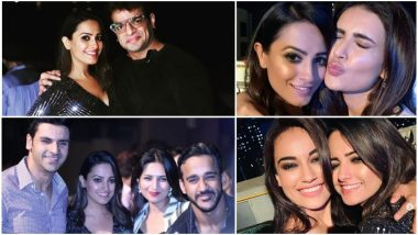 Anita Hassanandani Rings in Her 38th Birthday With Hubby Rohit Reddy, Karan Patel, Divyanka Tripathi, Karishma Tanna, Surbhi Jyoti and Other TV Stars – View Pics
