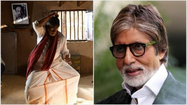 Amitabh Bachchan Surprises Fans by Tweeting in Tamil, Shares Two Pictures From the Sets of Uyarntha Manithan!