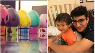 While Sunny Leone Celebrates Easter with Her Kids, Sara Ali Khan Has Taimur and Ibrahim Ali Khan By her Side - View Pics