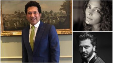 Happy Birthday Sachin Tendulkar: Riteish Deshmukh, Saiyami Kher and Others Wish Master Blaster As He Turns 46