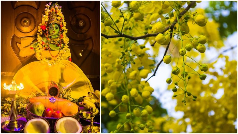 Vishu 2019: How to Prepare Vishu Kani, From Krishna Idol to Grains, the List of Items To Include