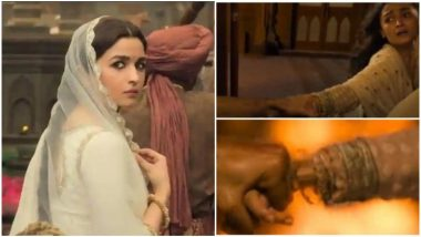 Alia Bhatt Reacts to Her Weird Skeletal 'Hand' Scene From Kalank Trailer; Reveals The Error Won't Be There in the Movie