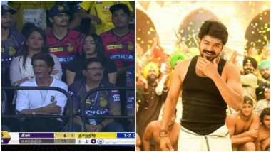 Shah Rukh Khan Watching an IPL 2019 Match with Director Atlee Makes us Wonder if He's Planning a Remake of Vijay's Mersal