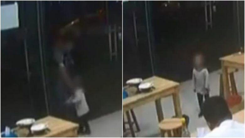 Chinese Father Pawns his Two-year-old Daughter to Restaurant As He Didn't Have Enough Money For Meal (Watch Video)