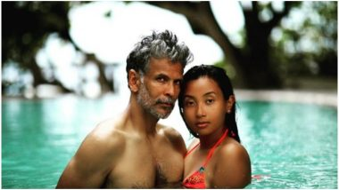 Milind Soman and Ankita Konwar are Busy Beating this Summer Heat Just the Right Way - View Pic