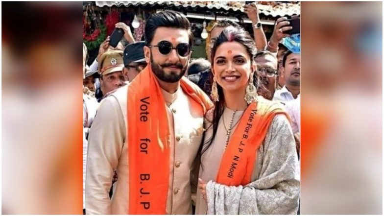 Ranveer Singh and Deepika Padukone Campaigning for BJP in 2019 Lok Sabha Elections? Don't Let This Picture Fool You!