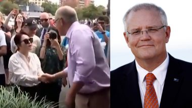Australian PM Scott Morrison speaks to Chinese Woman in Korean, Gets Criticised on Social Media (Watch Video)