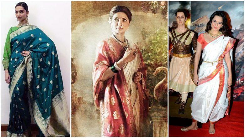Gudi Padwa 2019: From Deepika Padukone's Conventional Drape to Kangana Ranaut's Nauvari Saree, Here are Some Styling Tips to Dress for This Big Occasion (View Pics)