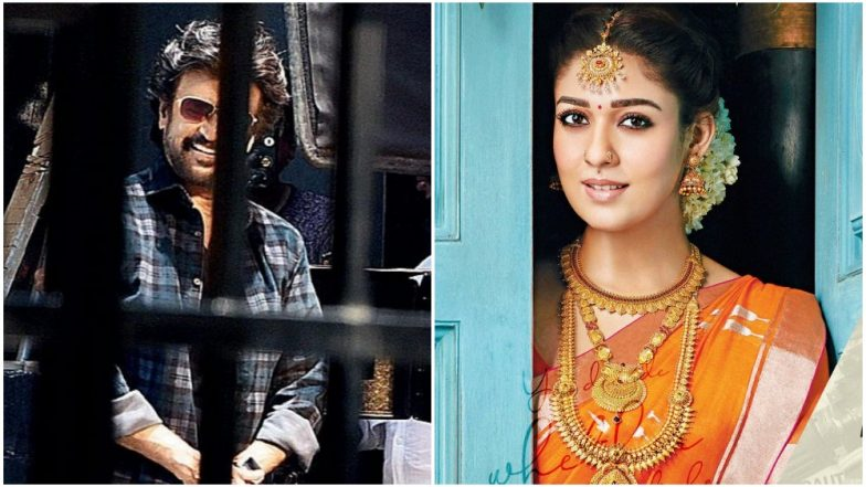Rajinikanth and Nayanthara's Looks LEAKED From the Sets of Darbar! See Pics Inside