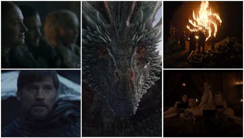 Game of Thrones 8 Episode 1 Recap: From Shocking Nudity to Jon Snow's Dragon Ride, 12 Best Moments in the First Episode of the Final Season (SPOILER ALERT)